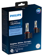 Светодиодные лампы Лампа Philips LED FOG H8/H11/H16 X-treme Ultinon +200% 12V 6500K 12794UNIX2