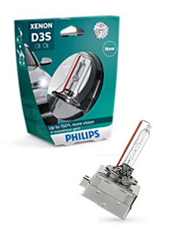 Ксеноновые лампы Лампа Philips D3S X-tremeVision gen2 plus 150 more vision 42403XV2S1