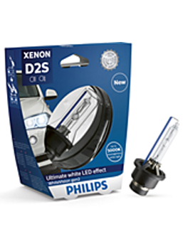 Ксеноновые лампы Лампа Philips D2S WhiteVision gen2 5000K S1 plus 120 85122WHV2S1