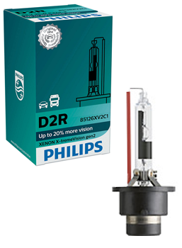 Ксеноновые лампы Лампа Philips D2R X-tremeVision gen2 plus 150 more vision 85126XV2C1