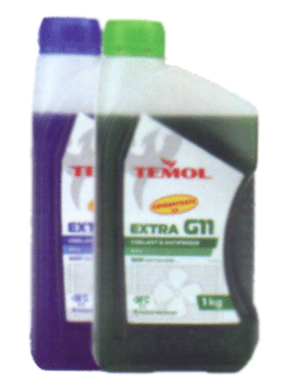Антифризы Temol Antifreeze luxe concentrate G11 GREEN