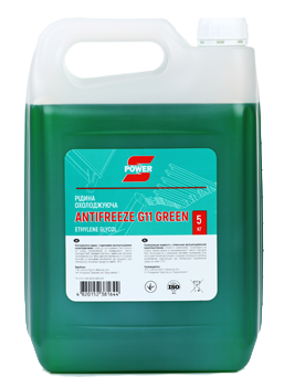 Антифризы S-power Antifreeze G11 Green